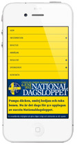 Nationaldagsloppet Responsive design